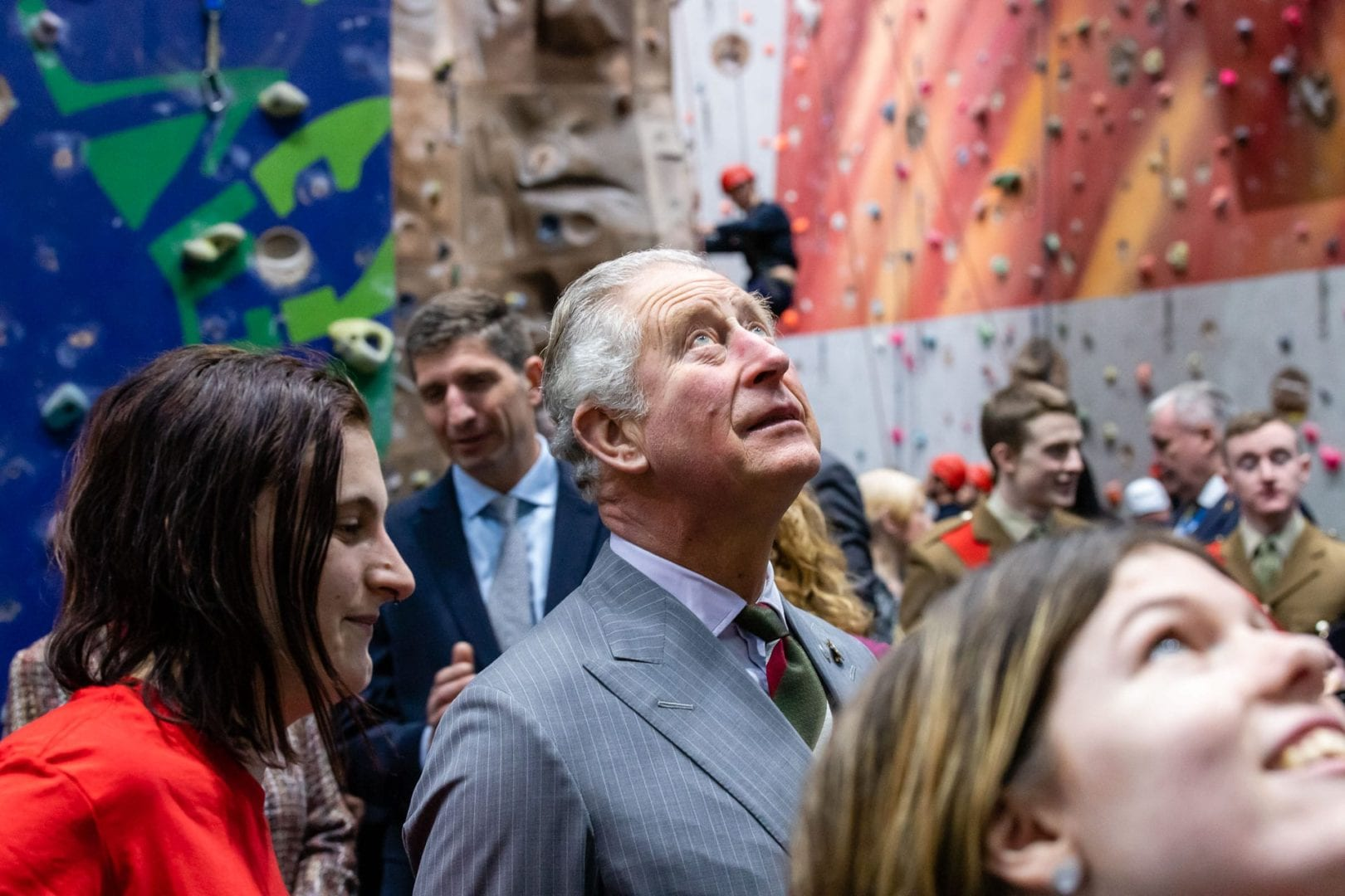 hrh prince of wales at event