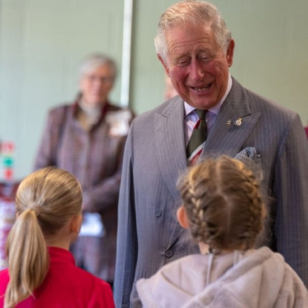hrh prince charles meeting young people