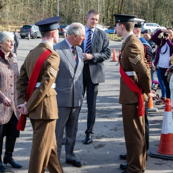 hrh prince of wales summit centre opening